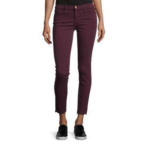 FRAME Mid Rise Skinny Raw Hem Step Jeans NWT $205